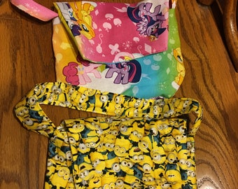 Minions OR My Little Pony  Little Girl Purses