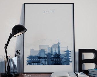 Kyoto Art Kyoto Print Kyoto Poster Kyoto Wall Art Kyoto Photo Kyoto Watercolor Kyoto Multicolor Kyoto Wall Decor Kyoto Home Decor Japan