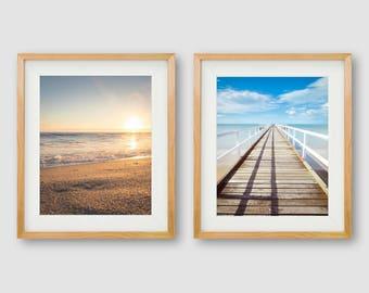 Beach Wall Art, Beach Prints, Gallery Wall Prints, Sunset Prints, Beach Art, Sunset Photography, Beach Photography, Ocean Prints, PRINTABLE