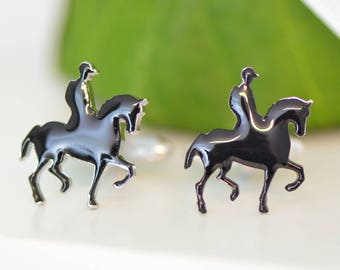 Polo Horse And Rider Cufflinks
