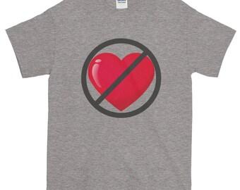 Anti-Valentine's Day Short-Sleeve T-Shirt