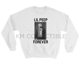 Lil Peep Forever Tribute White Sweatshirt