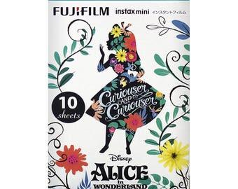 Fujifilm Instax mini film (Alice in the wonderland Frame) 10 sheets