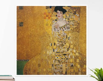 "Claude Monet, ""Portrait of Adele Bloch-Bauer"". Art poster, art print, rolled canvas, art canvas, wall art, wall decor"