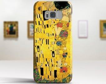"Gustav Klimt, ""The Kiss"". Samsung Galaxy S8 Case LG V30 case Google Pixel Case Galaxy J7 2017 Case and more. Art phone cases."