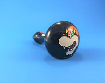 Super Mario Bros. Glass Pipe - Bowser