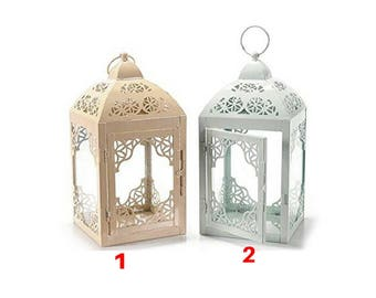 A square metal Lantern coloured model 2