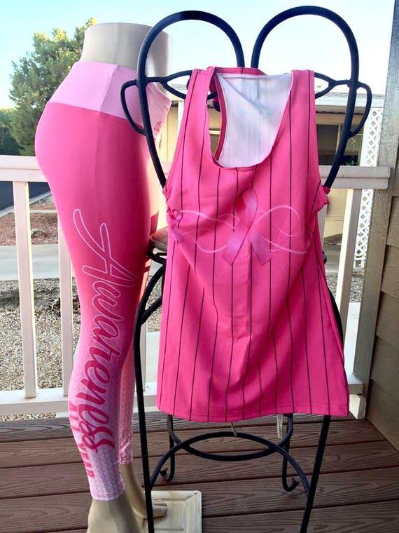 Breast Cancer Set (Leggings and Racerback)