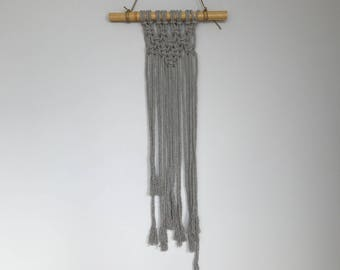 Smokey Grey Wall Hanging