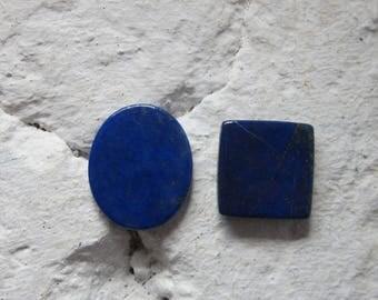 Lapis Lazuli. Lot 2 Pcs. S0444