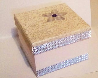 Hand crafted gift box