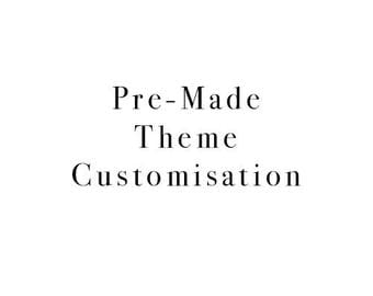 Pre-made Theme Changes for Getting Over Twenty Five Themes