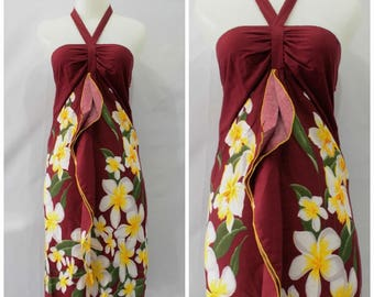 Dress kipas bela 11, Dress Floral bali indonesia