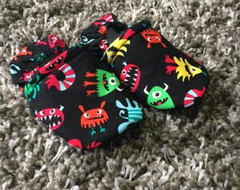 Silly Monster Moccasins