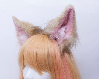 Little Fennec Fox Fur Ears Headband
