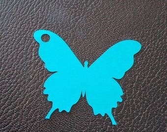 brand x 12 Butterfly place tags