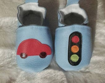 Size 3-6 month baby booties