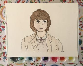 Mikey - Stranger Things - Watercolor  - Original