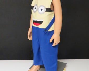 SHIPS NEXT DAY/Minions boy costume+Baby boy minions +Minions longall +baby minions costume