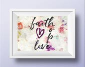 Faith Hope Love Sign | Bi...
