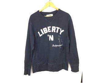 BACK NUMBER Long Sleeve Sweatshirt Pull Pver Medium Size