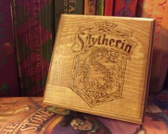 Harry Potter Slytherin Inspired Trinket Box