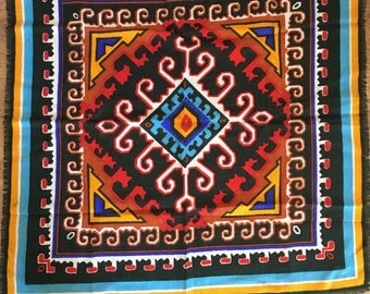 Vintage Echo 100% Wool Made In Italy Handkerchief
