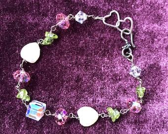 Crystal Heart bracelet - Valentine's Day