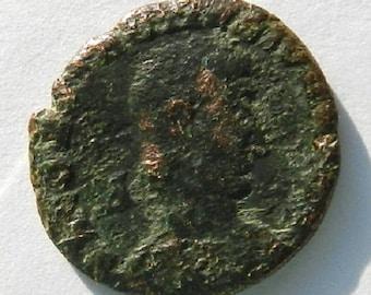 Antiquarian Original Coin Made From Bronze