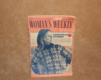 Womans Weekly Magazine Vintage Christmas Day 1965