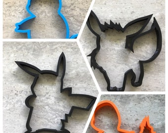 Your choice of Pokemon Cookie Cutter