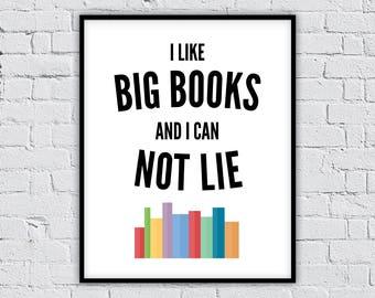 book lover gift, book lover, gift for book lover, book art print, bookworm, book art, bookish gifts, librarian gift, literary gift, bookworm