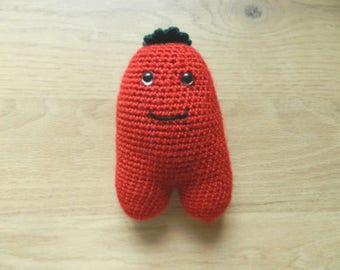 Plush, amigurumi crochet tomato, handmade Christmas gifts