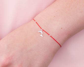 Red String Bracelet Sterling Silver, Red String of Fate, Kabbalah bracelet, Protection Bracelet, Charity Bracelet