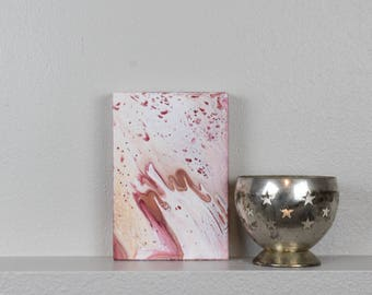 "Acrylic Fluid Painting ""Tame"" on wood"