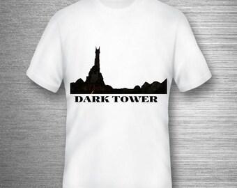 Stephen King's Dark Tower Inspired  Movie Comics Novel Best T-shirt