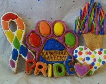 Doggy Pride Cookie Box