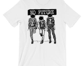 No Future Astronauts Short-Sleeve Unisex T-Shirt