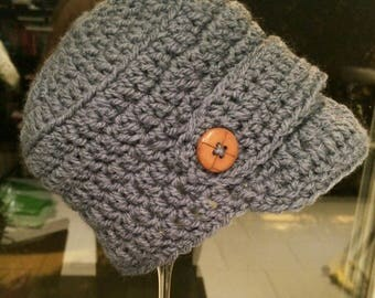 Beanie Hat crocheted for adult