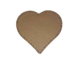 Die-Cut Stitch Heart 2 inch 10