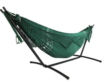 brazilian hammock with fringe  white kiwi reading hammock   etsy  rh   etsy