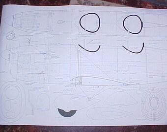 Ryan ST-A Model Airplane Plan 94 Inch Wing Span
