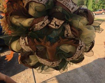Deer Season Wreath