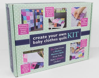 Quilt Kit | Baby Quilt Kit | Quilt Kits for Sale | Quilt Kits for Beginners | Baby Quilt Kits to Make | Kids Quilt Patterns