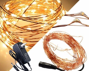 Warm White 33ft 100 LED Light String