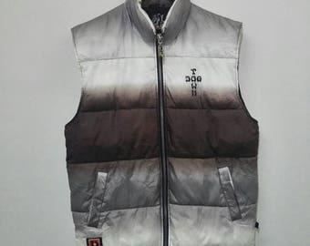 Vintage DOGTOWN Vest Puffer Multicolour Design