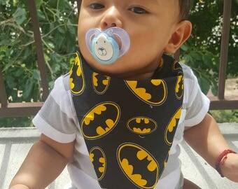 Batman baby bandana bib