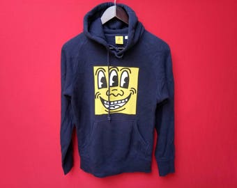 vintage keith haring hoodie small size