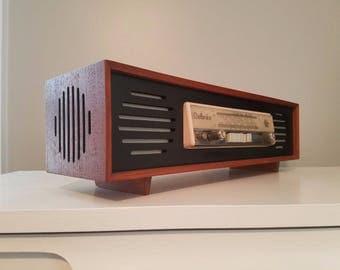Delores Radio Mid Century Modern teak