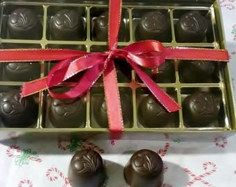 Cordials - Maraschino Cherries in Dark or Mil Chocolate,  15 count